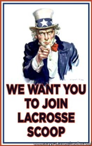 Lacrosse Scoop_US Wants You