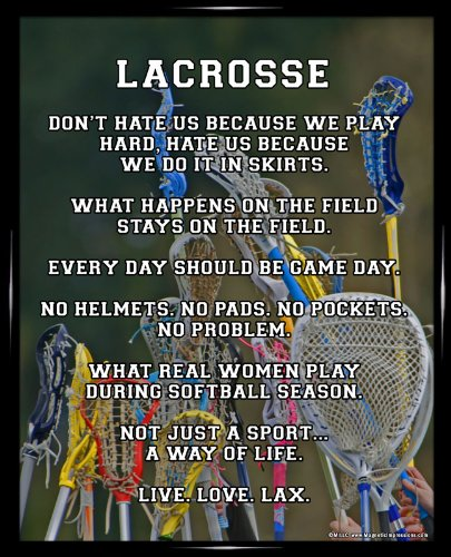 Womens lax poster