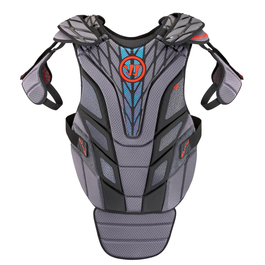 Warrior Burn Goalie Guard 15 lacrosse Chest Protectors