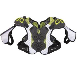 Best-Brine Triumph 2 Shoulder Pad Lacrosse Shoulder Pads-size-weight-colors