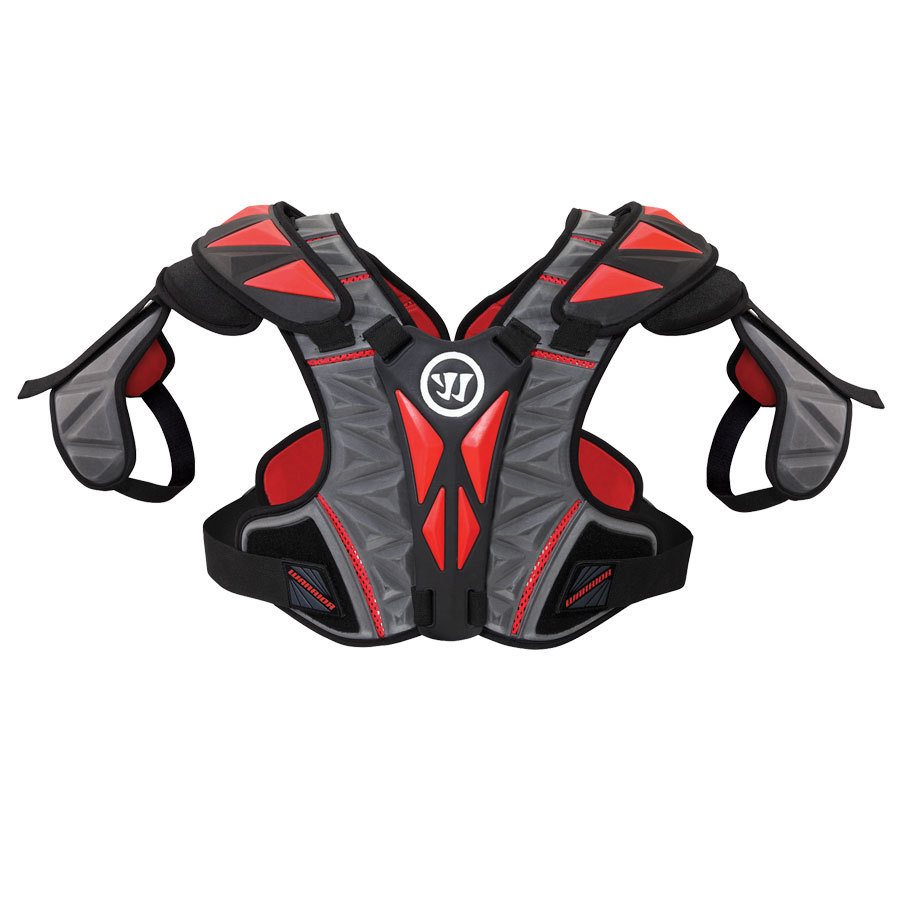 Best-Warrior Regulator Hitman Lacrosse Shoulder Pads-size-weight-colors