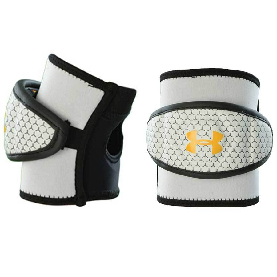 Best-Under Armour Player SS Elbow Cap Lacrosse Arm Pads-size-weight-colors