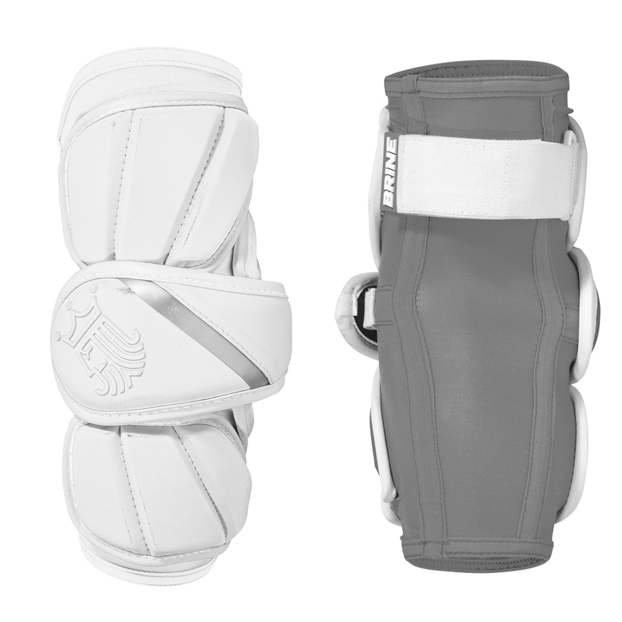 Best-Brine King V Arm Pad Lacrosse Arm Pads-size-weight-colors