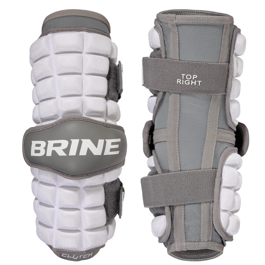 Best-Brine Clutch Arm Guard Lacrosse Arm Pads-size-weight-colors