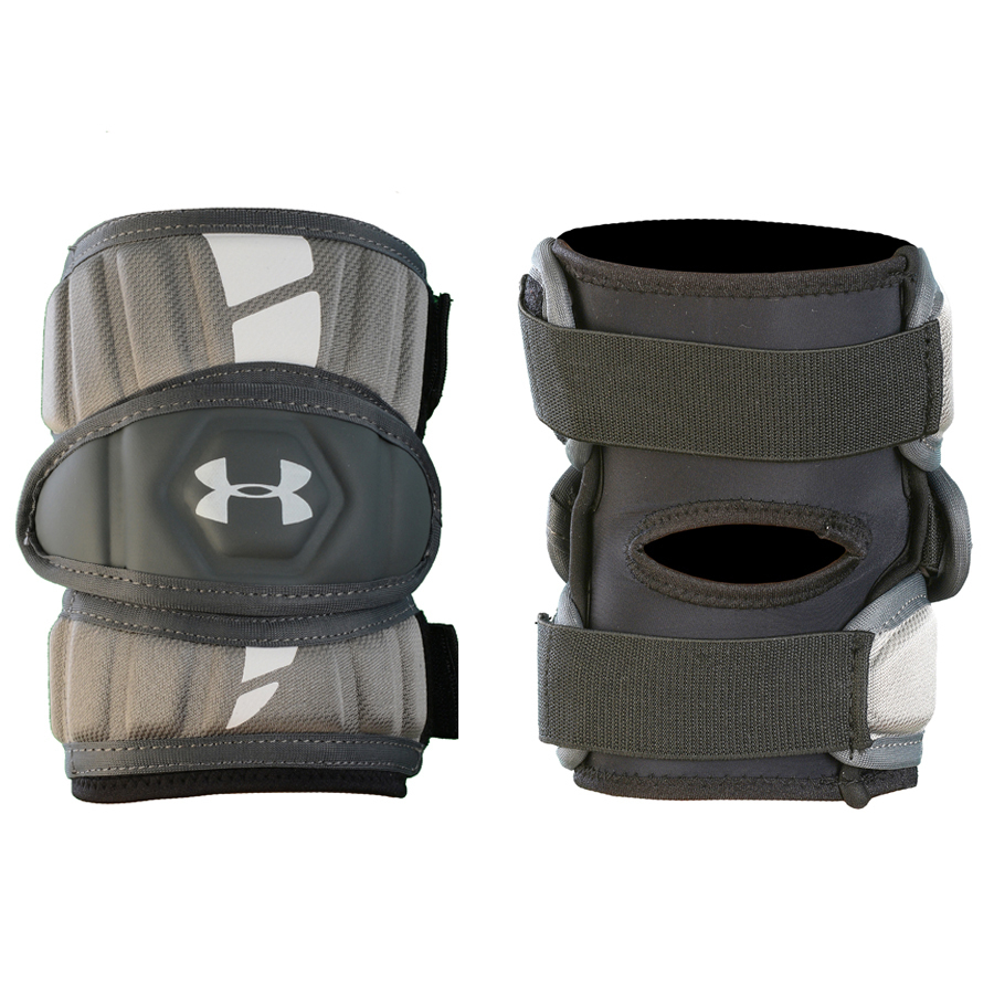 Best-Under Armour Strategy Arm Pads Lacrosse Arm Pads-size-weight-colors