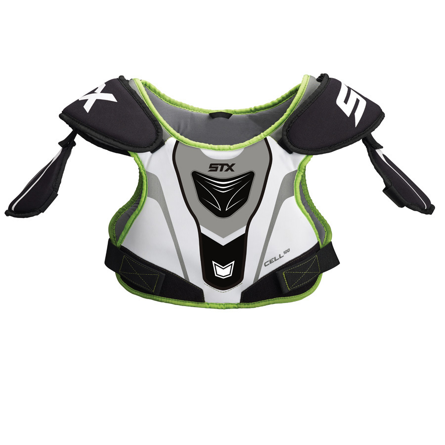 Best-STX Cell 100 Shoulder Pads Lacrosse Shoulder Pads-size-weight-colors