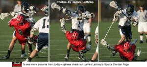 Lacrosse Cross Check