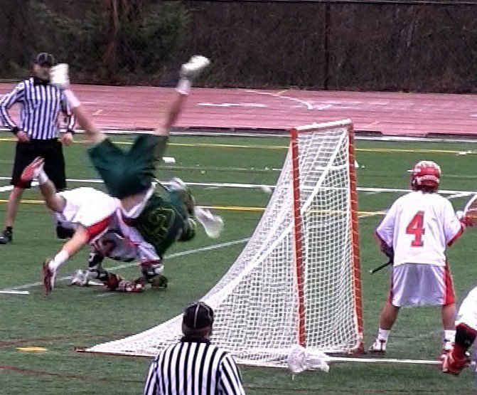 Huge Lacrosse Hits