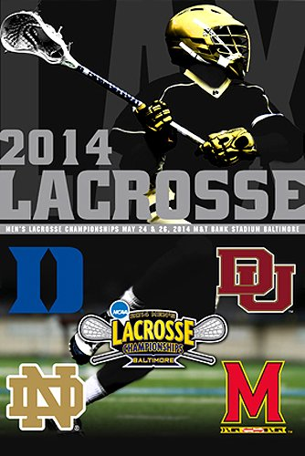 NCAA College Lacrosse Poster