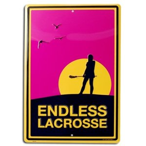 Endless Lacrosse Poster