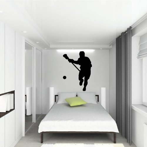 Bedroom Lacrosse Wall Decals