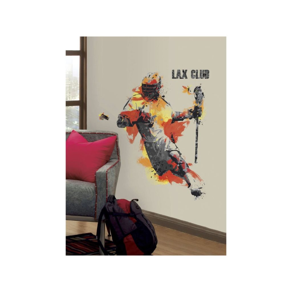 Lax wall decals