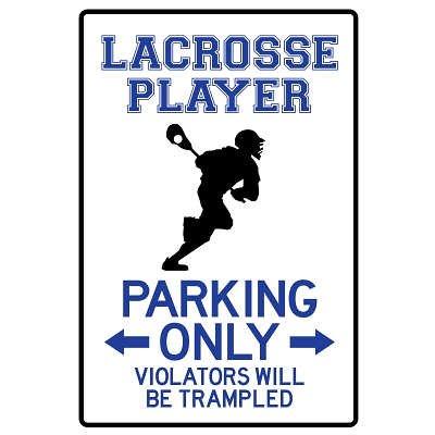 College Dorm Lacrosse Posters