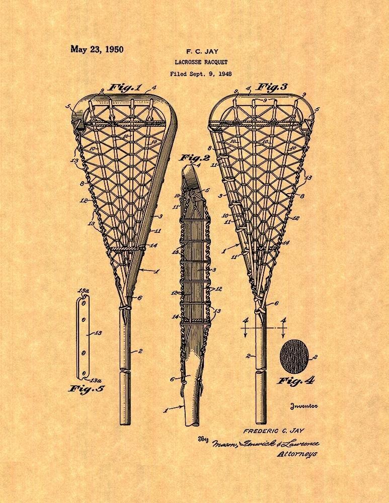 Vintage lacrosse posters