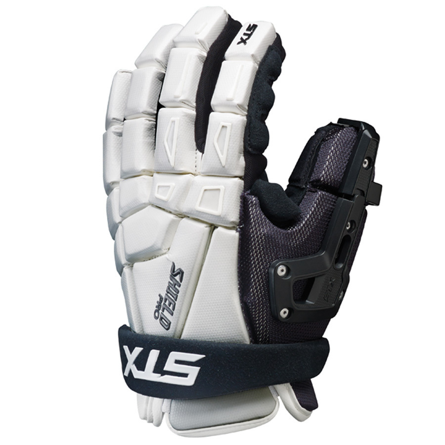 Best-STX Shield Pro Goalie Glove Lacrosse Gloves-size-weight-colors