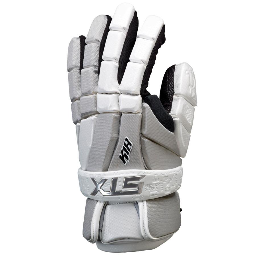 Best-STX K18 Lacrosse Gloves-size-weight-colors