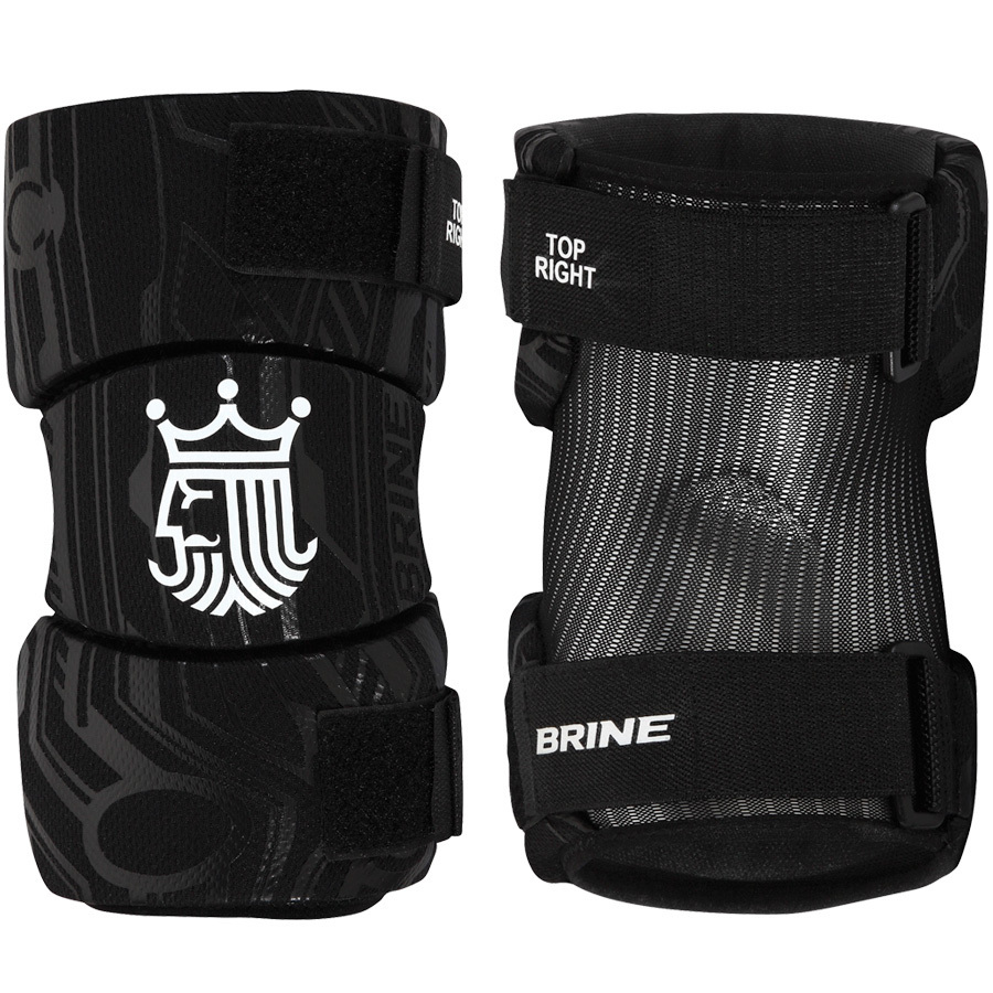 Best-Brine Uprising 2 Lacrosse Arm Pads-size-weight-colors