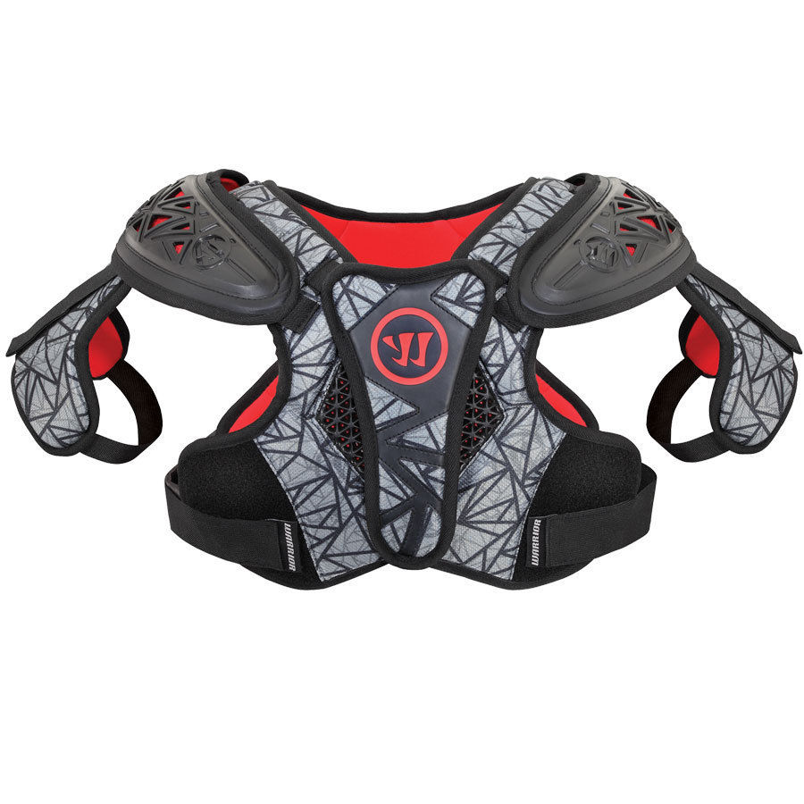 Best-Warrior Adrenaline X2 Lacrosse Shoulder Pads-size-weight-colors
