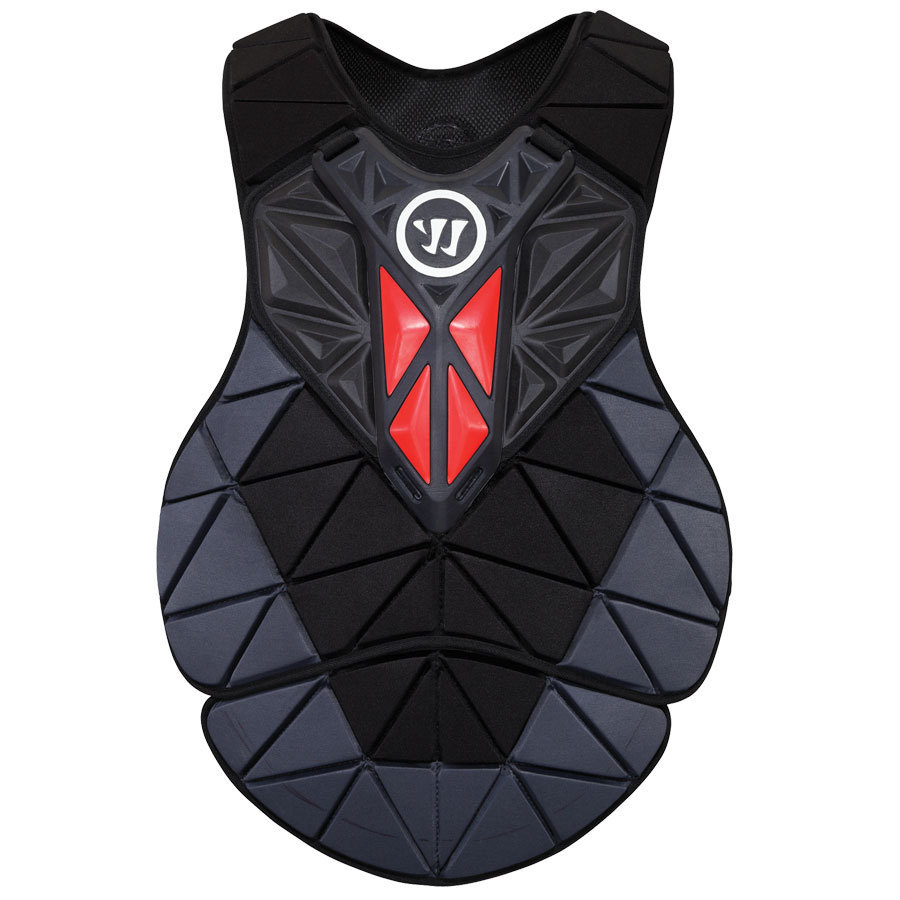 Warrior Regulator Chest Pad Lacrosse Chest Protectors