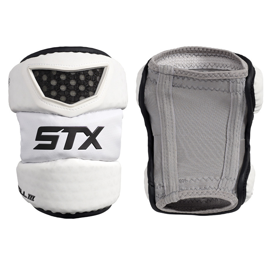 Best-STX Cell 3 Elbow Pads Lacrosse Arm Pads-size-weight-colors