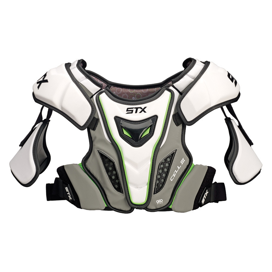 Best-STX Cell 3 Shoulder Pad Lacrosse Shoulder Pads-size-weight-colors