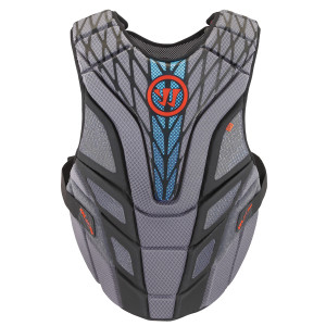 Warrior Burn Chest Pad 15 Lacrosse Chest Protectors