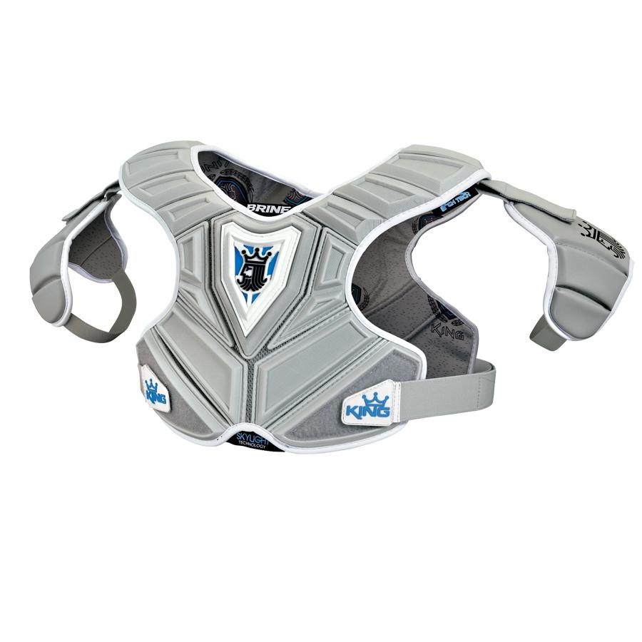 Best-Brine King V Mid Shoulder Pad Lacrosse Shoulder Pads-size-weight-colors