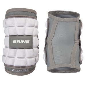 Best-Brine Clutch Elbow Pad Lacrosse Arm Pads-size-weight-colors