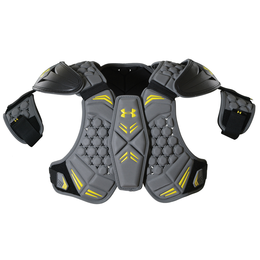 Best-Under Armour VFT Shoulder Pads Lacrosse Shoulder Pads-size-weight-colors