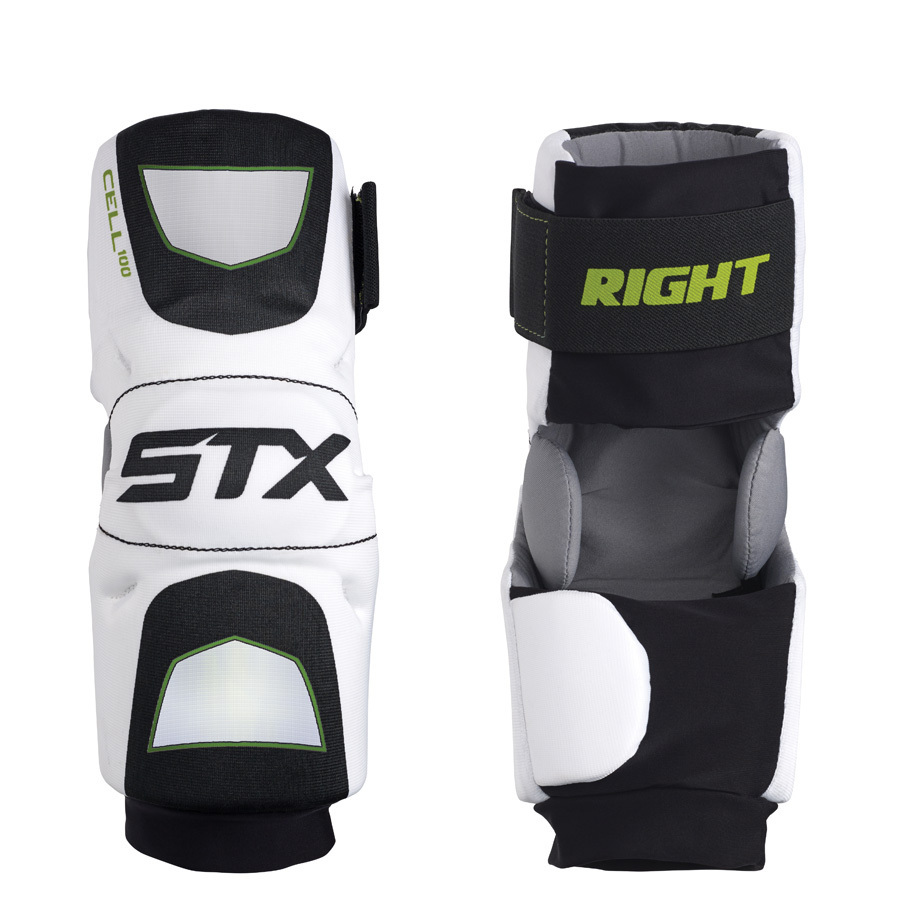 Best-STX Cell 100 Arm Pads Lacrosse Arm Pads-size-weight-colors