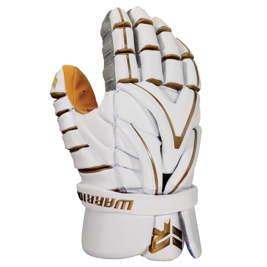Best-Warrior Evo Rabil Gold Glove Lacrosse Gloves-size-weight-colors
