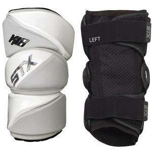 Best-STX K18 AP Lacrosse Arm Pads-size-weight-colors