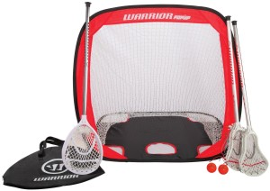 Mini-Warrior-lacrosse-sticks-set-goal