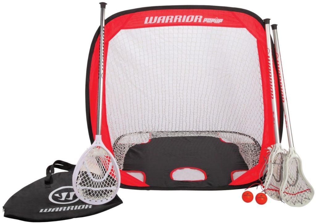 Mini-Warrior-lacrosse-sticks-set-goal