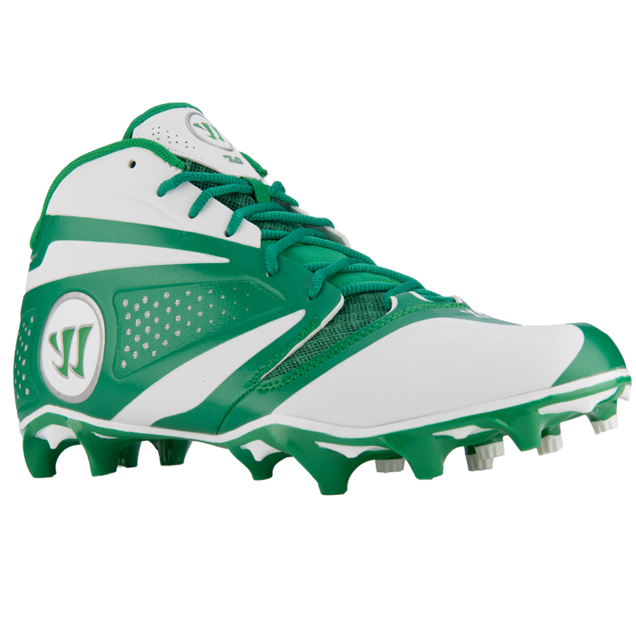 Best-Warrior Burn 7 Mid Lacrosse Footwear-size-weight-colors